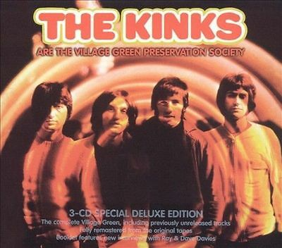 The Village Green Preservation Society by The Kinks (Jun-2004, 3 CDs) Sanctuary