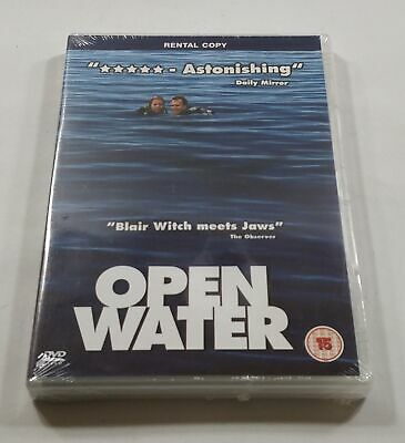 Open Water DVD PAL Region 2 (Rental Copy) New Sealed - Fast Free Delivery