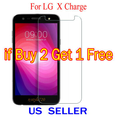 1x Clear LCD Screen Protector Guard Cover Shield Film For LG X Charge