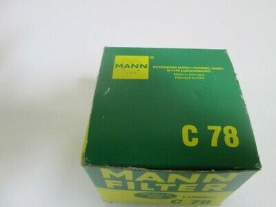 Mann Filter C78 *New In Box*