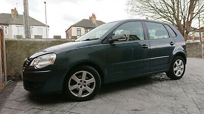 2008 '58' Volkswagen Polo 1.4 Tdi Grey 5-Door *new Mot*