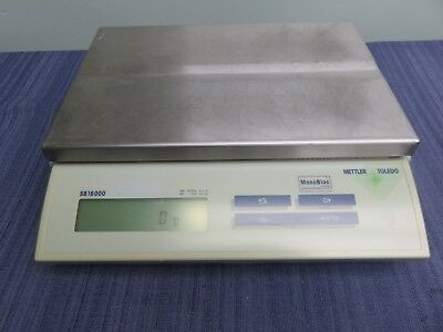 Mettler Toledo SB16000 Precision Balance Scale  50g to 16100g.  GUARANTEED