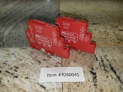 Continental I.O.-ODC-RL-060 Solid State Relay Interface Module (Set of 2)