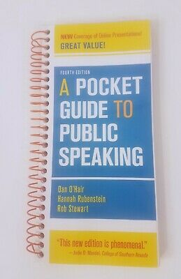 A Pocket Guide to Public Speaking by Rob Stewart, Hannah Rubenstein and Dan...