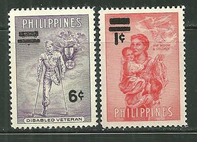 Philippines 648-49 Mnh 14Th Anniversary Of Liberation