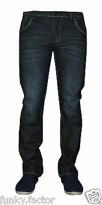 New Mens Boys Branded Mens Slim Straight Fit Denim Jeans Straight Fit Jeans BNWT