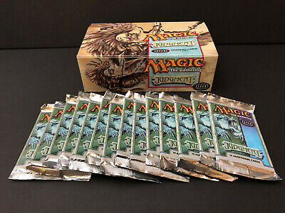 Magic MTG Judgment Factory Sealed Booster Packs x14 with box