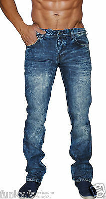 ***Mens Boys Branded Mens Straight Regular Fit Denim Jeans Fashion Jeans BNWT***