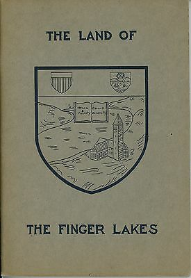 1917 Land of Finger Lakes Ithaca New York Cornell University NY Travel Booklet