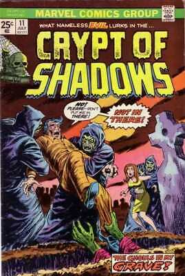 Crypt of Shadows (1973 series) #11 in Very Fine condition. Marvel comics [*kt]