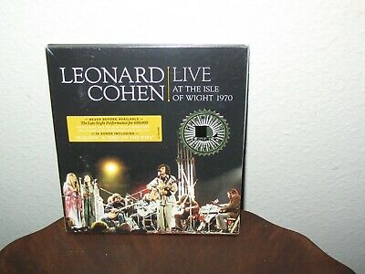 Leonard Cohen -Live At The Isle Of Wight -1970-Dvd,cd-And Booklet. Factorysealed