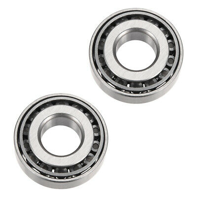 30202 Tapered Roller Bearing Cone Cup Set, 15mm Bore 35mm OD 11mm Thickness 2pcs