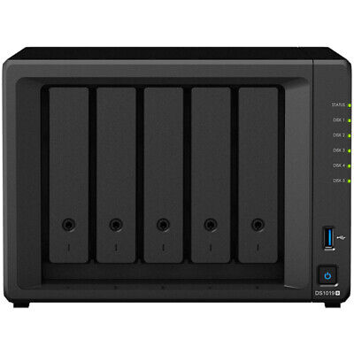 Synology DiskStation DS1019+ 32tb NAS Server 4x8000gb WD Red NAS Drives