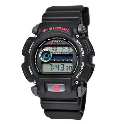 Casio Men's G-Shock Classic Digital Watch  Black/Red DW9052-1C4