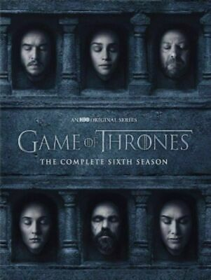 Game of Thrones: Season 6 The Complete 6th Season (DVD) New, Free Shipping!