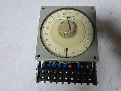 Eagle Signal Microflex Ha40A6 120V 20 Second Timer  *used*
