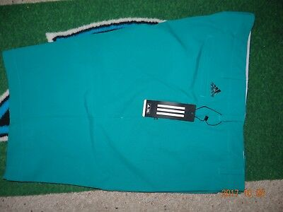 New Adidas Golf 2016 Climacool Ultimate Solid Shorts - Size 40 EQT - Green