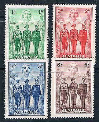 Australia 1940 Imperial Forces SG 196/9 MNH