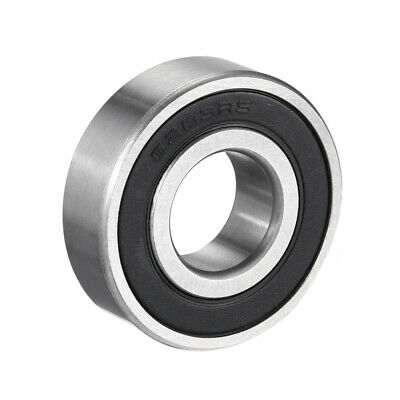 Deep Groove Ball Bearing 6203-2RS Double Sealed 17mmx40mmx12mm Chrome Steel