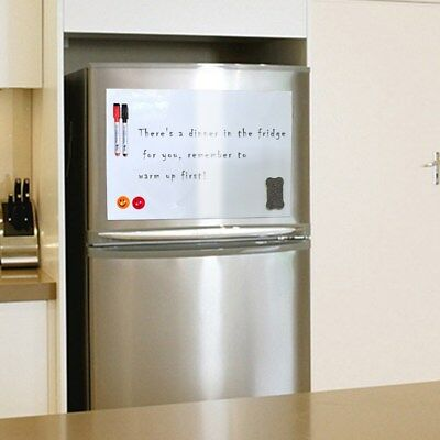 A3/A4 Reminder Fridge Magnetic Whiteboard Family Message Board Office Memo AU