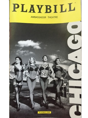 Chicago Broadway Playbill +Full Color Brochures And Flyers