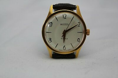 Westclox Watch Vintage Mens 18 Jewels