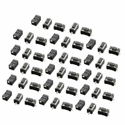50 Pcs Momentary Tact Tactile Push Button Switch SMD SMT PCB 3 x 6 x 4.3mm