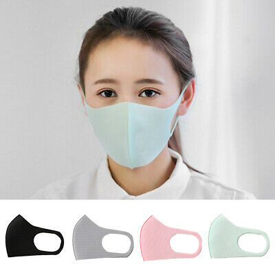 Unisex Cycling Anti Dust Haze Ash Earloop Face Masks Surgical Respirator Utility