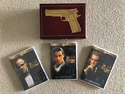 The Godfather Trilogy - Limited Edition Collector's Wooden Box Set DVD Movies