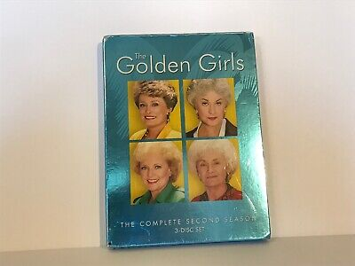 The Golden Girls - The Complete Second Season (DVD, 2005, 3-Disc Set) SEALED