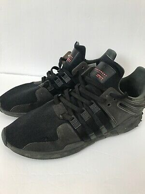 e37dc666ee43 Adidas Mens EQT Support ADV Black Black Turbo Men s Running Shoes Size 12  BB1304