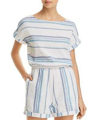 af8535f3c9f NWT Splendid Tapestry Stripe Romper Swimsuit Cover Up Small tfe11