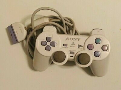 Original Playstation 2 PS2 Official OEM Sony Controller Authentic Grey N1158