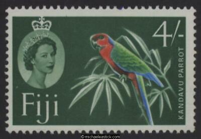 1964 Fiji 4s Multi-coloured Definitive, SG 321, MH