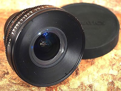 Zeiss 21mm T2.9 Distagon T* CP.2 Compact Prime EF Mount (Feet Scale) Lens