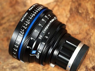 Zeiss 50mm T2.1 Planar T* Compact Prime CP.2 w/Sony E-Mount (Feet Scale) Lens