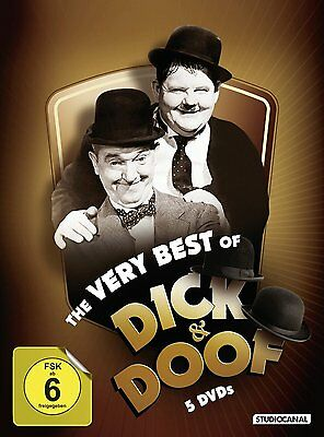 Laurel & Hardy & Doof Laurel and Hardy the Very Best of 5 DVD Box Collection
