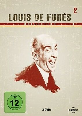 Louis de Funes Rabbi Jacob Das Schlitzohr Geizkragen 3 DVD Box Collection 2 Neu