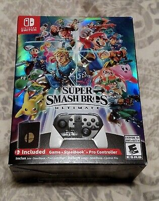 Super Smash Bros Ultimate Special Edition Nintendo Switch NEW SEALED