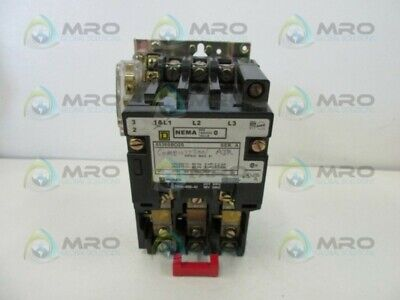 Square D 8536-Dbo2S Motor Starter (As Pictured) * Used *