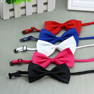 Dress Elegant Bowknot Dog Puppy Cat Necktie Bow Tie For Dog Pet Clothes Sightly