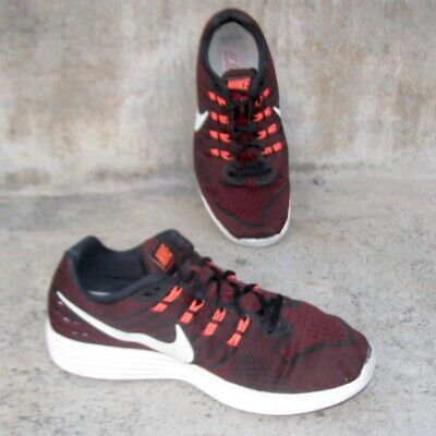 cheap for discount a5809 adb5f Nike Men s Lunartempo 2 Burgundy White Running Shoes (818097-006) Size 10.5