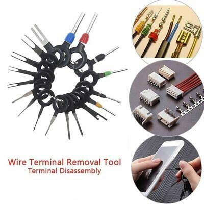 11/18Pcs Car Terminal Removal Tool Wire Plug Connector Extractor Puller