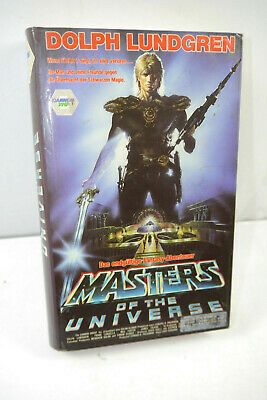 Masters of the Universe VHS Video Cassette Cannon Vmp Dolph Lundgren (Wr2)