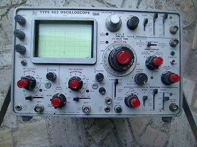OSCILOSCOPE TEKTRONIX  453  50 Mhz  2 voies. Portable