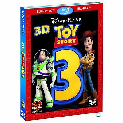 Blu ray + Bluray 3D Disney Pixar : Toy Story 3 avec fourreau neuf sous blister