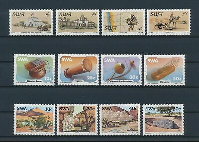 LJ89205 South West Africa nice lot of good stamps MNH