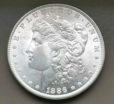 1886 Morgan Silver Dollar BU !