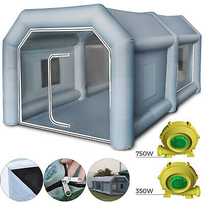 Inflatable Spray Booth Paint Tent Car Paint Giant Workstation 210D Oxford Fabric