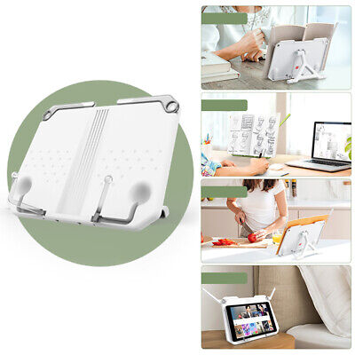 Folding Tablet Book Reading Stand Holder Recipe Shelf Desk Holder Portable